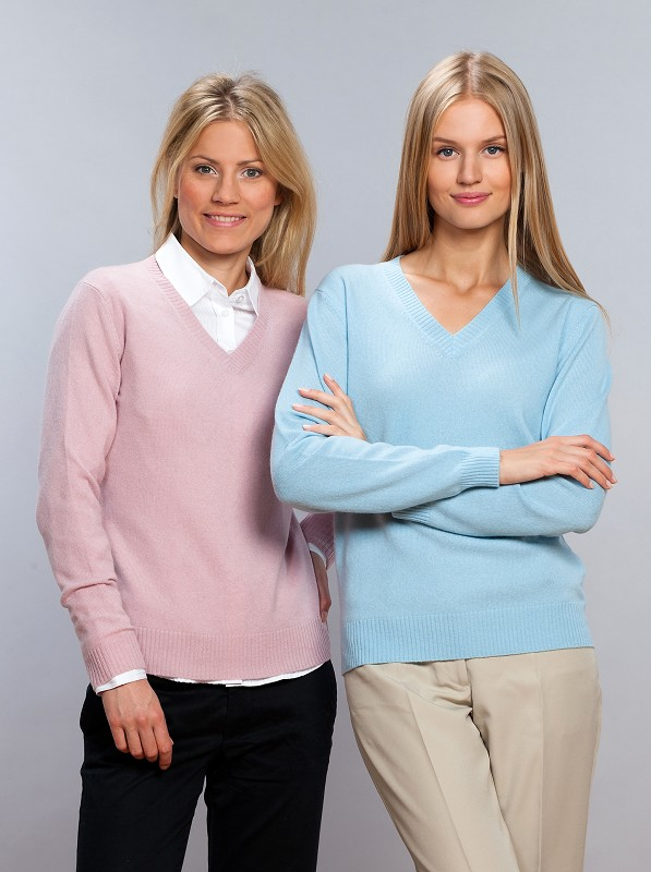 V-Pullover LILLY, 100% Cashmere